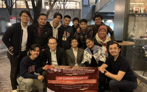 Mahasiswa Manajemen FPEB UPI mengikuti  Low Carbon Exchange Program 2020  – The University of Kitakyushu, Jepang