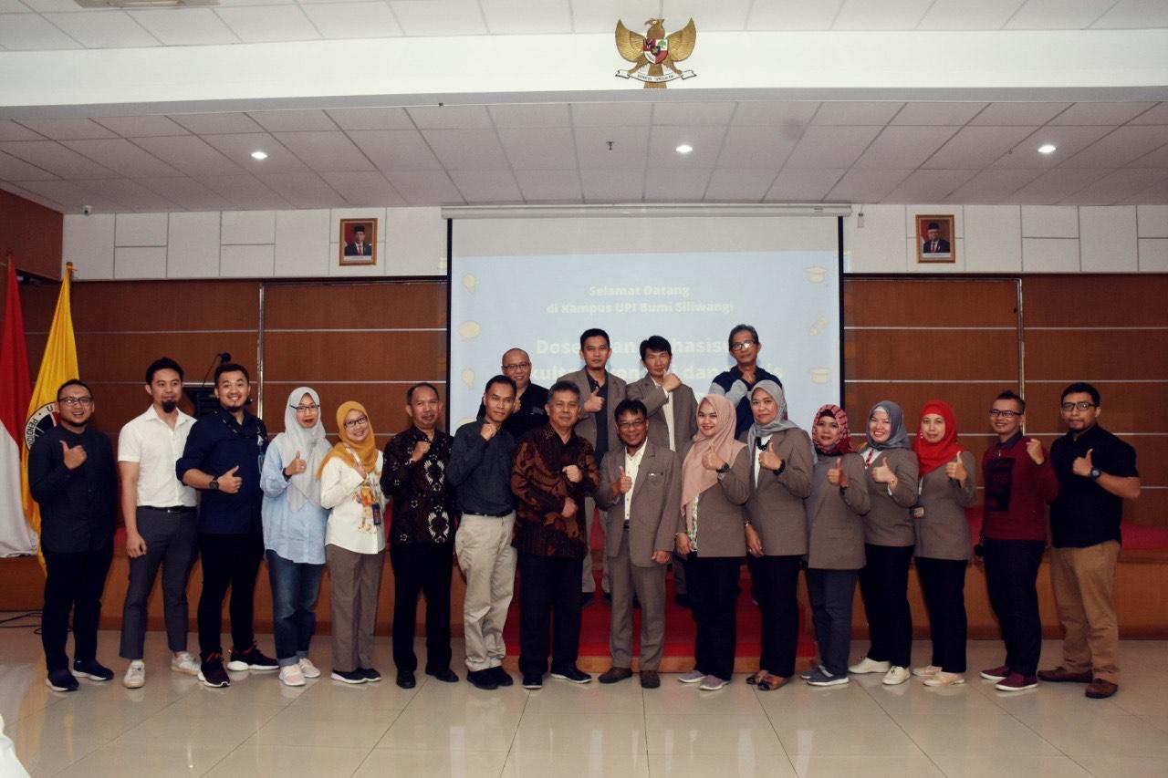 Kunjungan Dosen dan Mahasiswa Fakultas Ekonomi dan Bisnis Universitas Bina Darma Palembang