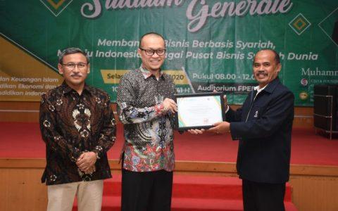 Inspirasi Membangun Bisnis Berbasis Syariah, Menuju Indonesia sebagai Pusat Bisnis Syariah Dunia bersama Hasan Gaido