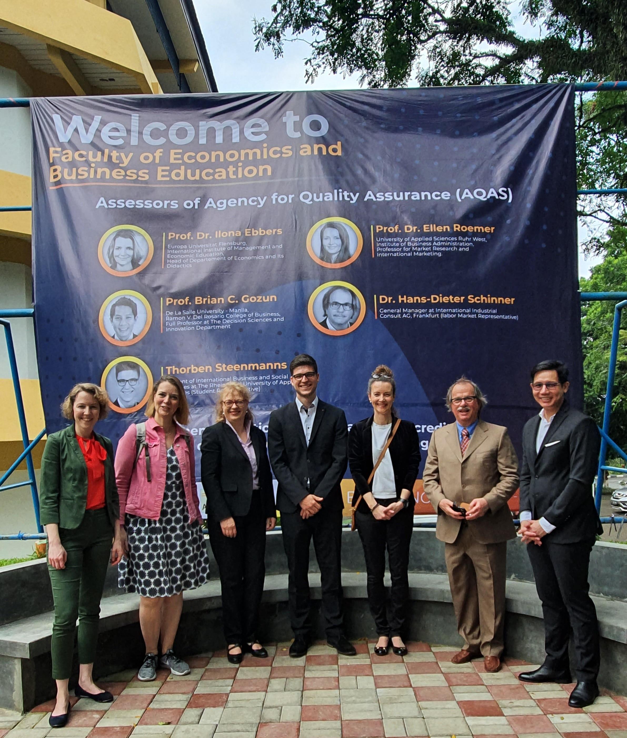FPEB Mendukung World Class University UPI Dengan Mendaftarkan 2 Prodi untuk Raih Akreditasi Internasional AQAS