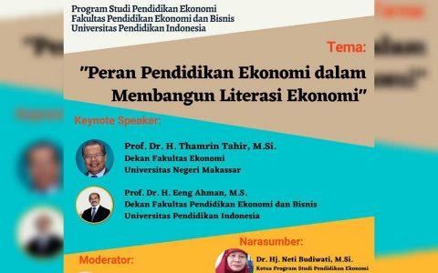 """Peran Pendidikan Ekonomi dalam Membangun Literasi Ekononi"""""""
