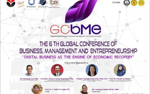 The 6th UPI – GCBME 2021 Hadirkan Tokoh Nasional dan Pemateri Bereputasi Internasional