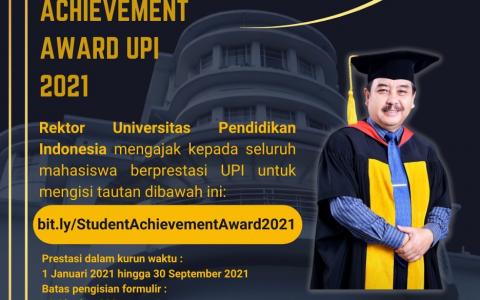 STUDENT ACHIEVEMENT AWARD UPI 2021