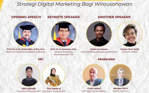 Webinar: Strategi Digital Marketing bagi Wirausahawan