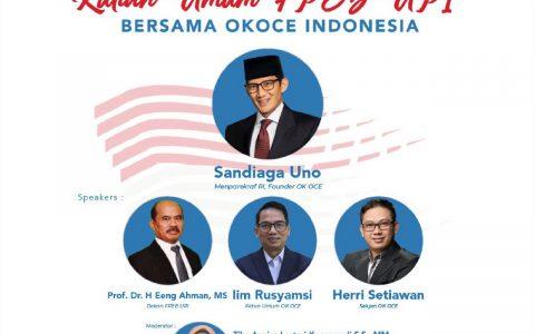 Undangan Kuliah Umum FPEB UPI – OK OCE bersama Pak Sandiaga Uno